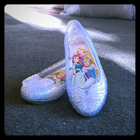 Princess Light Up Glass Slippers   Poshmark